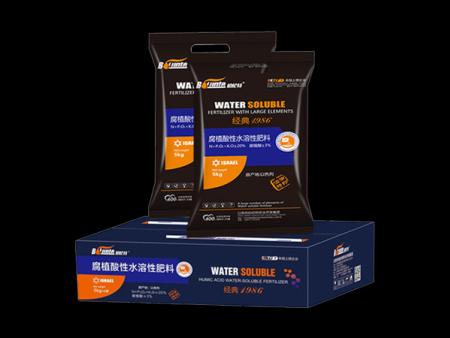 腐殖酸性水溶性肥料
