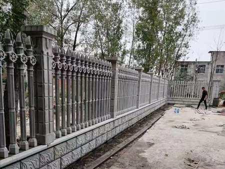 广河一居民别墅水泥艺术围栏