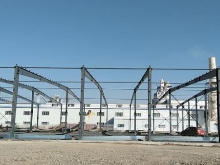 项目动态 | 山西超牌煅烧高岭土有限公司年产二十万吨煅烧高岭土项目正在进行中