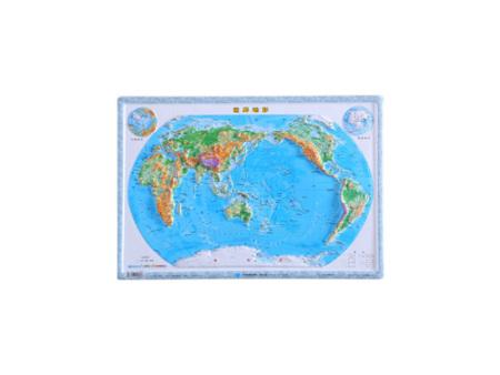 世界立体地形模型