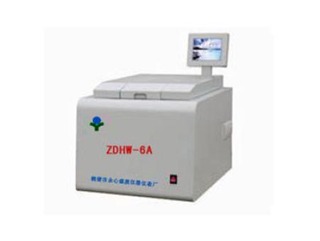 ZDHW-6A 液晶量热仪/液晶发热量仪/砖厂发热量/煤发热量