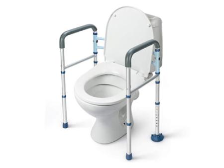 Adjustable Aluminum Foldway Toilet Surround Frame TF72009
