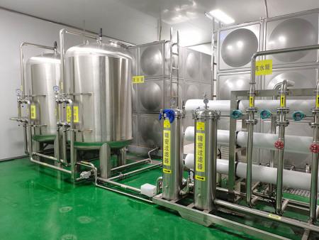 桶装水生产车间