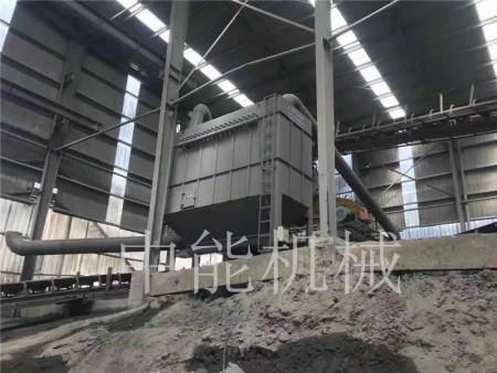 矿山除尘设备安装现场