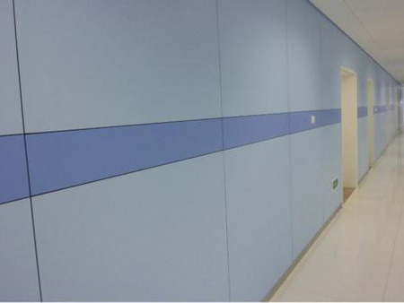 西安醫用墻板-醫院墻面裝修眾多客戶選擇使用醫用墻板