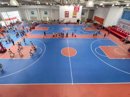 详解标准篮球场划线方法和标准