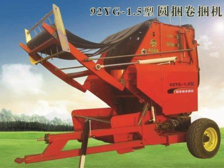 9YG-1.5型圆草捆卷捆机