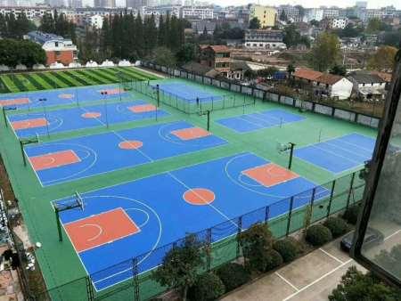 硅pu篮球场基层不平如何处理?几个办法解决!