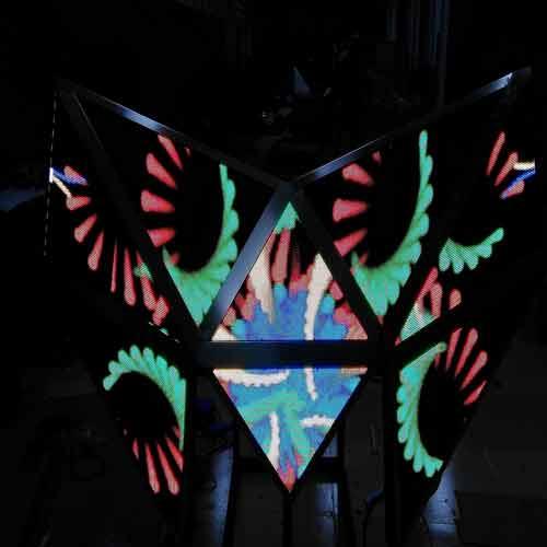 LED酒吧屏蝴蝶屏