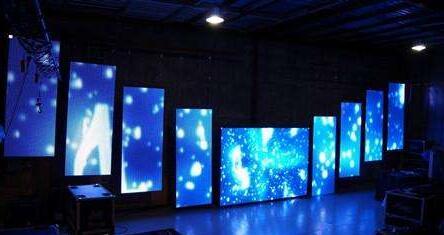 彩幕和LED顯示屏總有些人迷之分不清楚