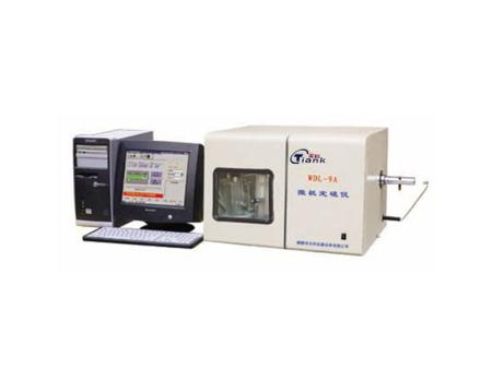 WDL-9A型微機定硫儀
