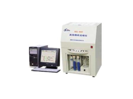 TKDL-8000型微機定硫儀