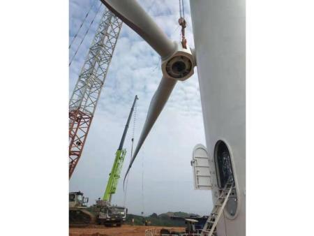 广西灵山八一茶场100兆瓦风电项目