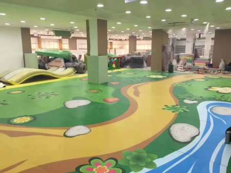 幼儿园pvc塑胶地板颜色该如何搭配?