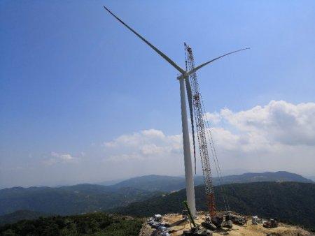 中核汇能福建南安高嵛山70MW风电工程