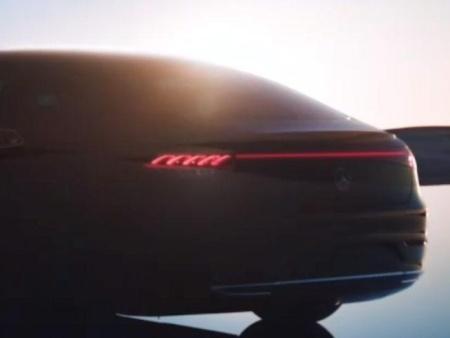 [烟台汽车贴膜]奔驰EQS于2021年4月