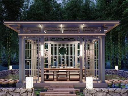 甘肃铝艺大门的设计是什么样的对应风格