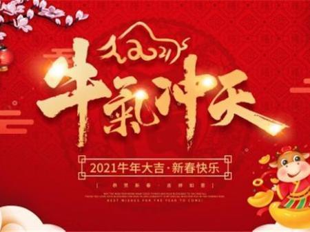 新年快乐:牛气冲天