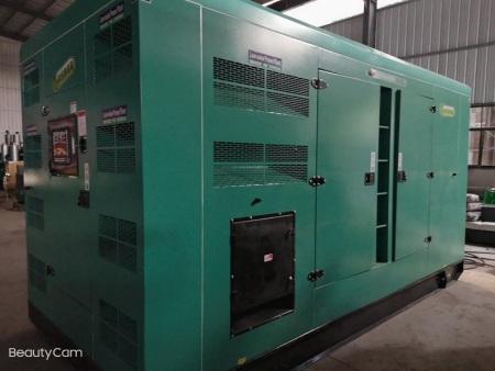 500kw静音柴油发电机组