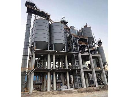 河北涉县 机制砂+砂浆生产线案例