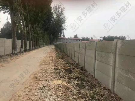 装配式水泥板围墙