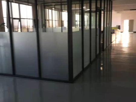 玻璃隔断,办公室装修的好拍档