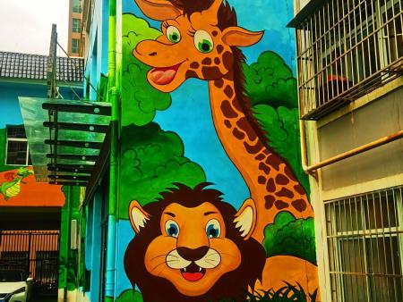 幼兒園彩繪