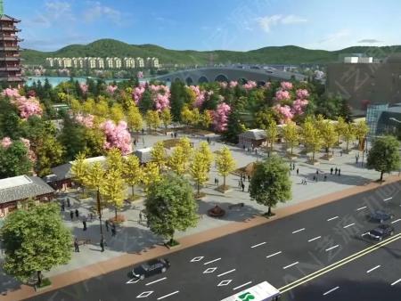 广西钦州虚拟校园三维动画制作