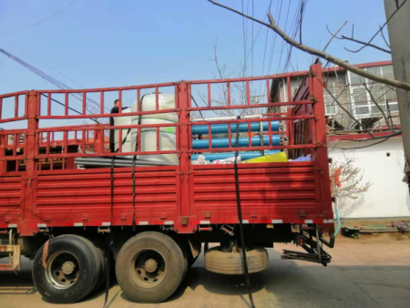十吨纯净水设备装车
