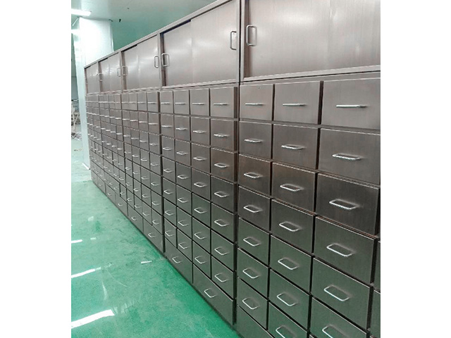 不銹鋼中藥柜的使用保養