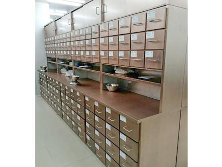 定制銹鋼中藥柜2
