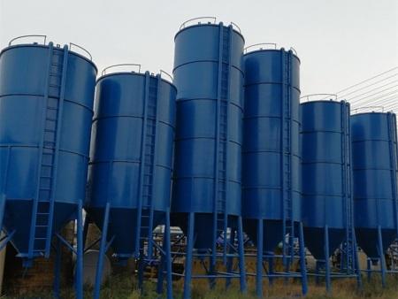 散装水泥罐的制作过程