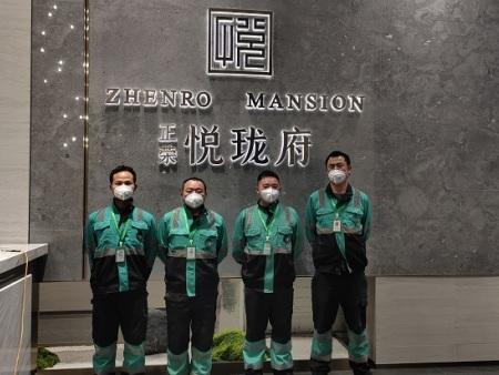 蔡甸營銷中心除甲醛案例