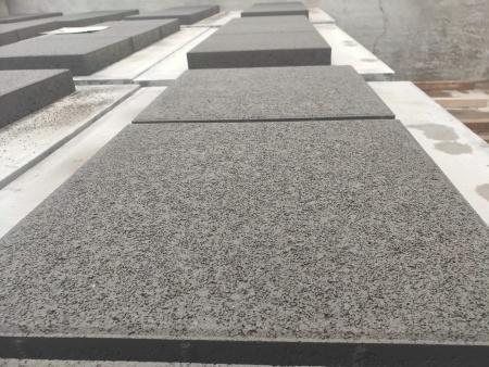 4月14日公司新品大规格渗水砖正式投产