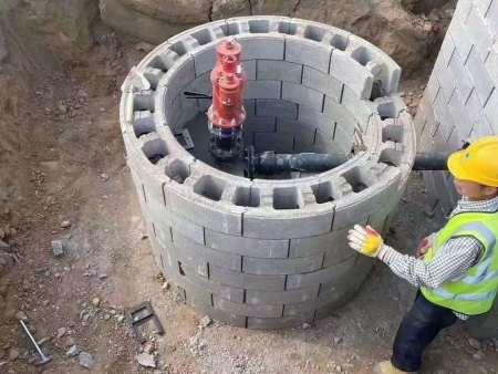 河道護坡磚如何施工