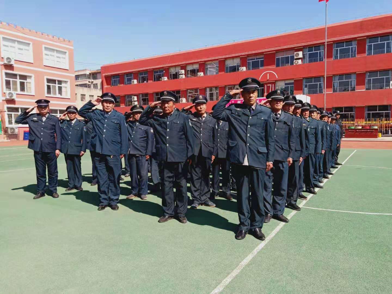 山东坤安保安服务有限公司2021年首季度培训
