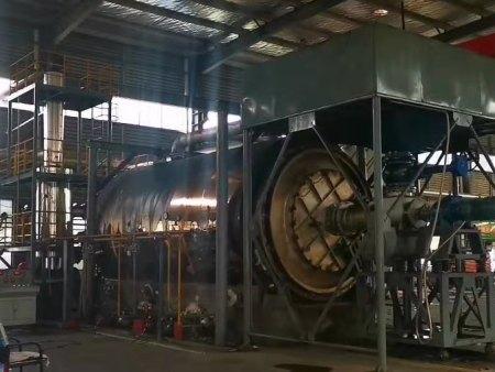废塑料炼油设备厂家讲述废塑料裂解的生产过程