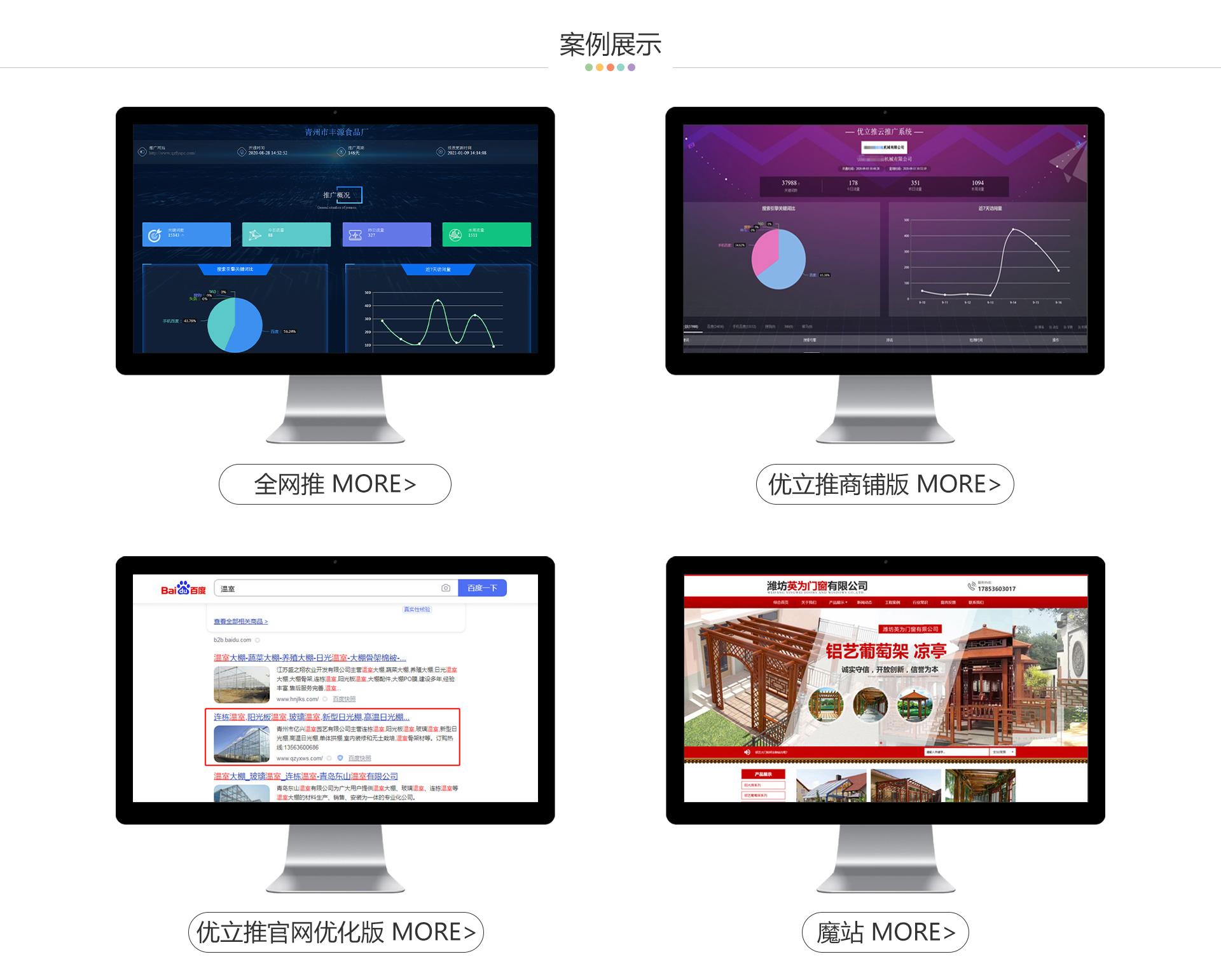 山东全网推网络科技有限公司案例展示