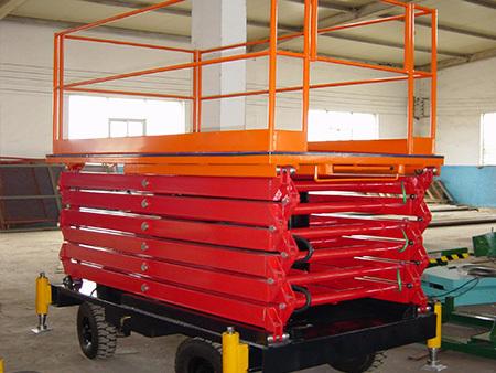 高空作業專用設備——剪叉式電動升降平臺
