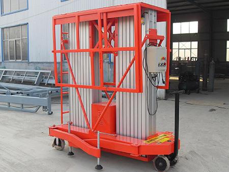 正確使用液壓升降機也是對設備的一種保養