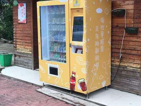 福建自动饮料机厂家投放机定制