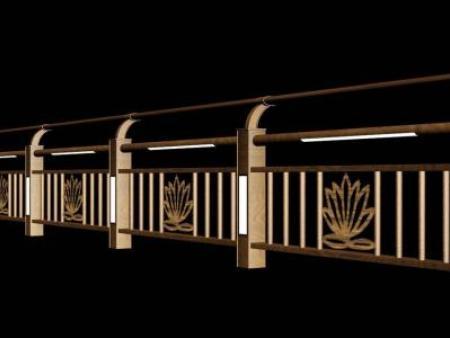 灯光文化护栏系列