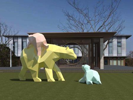 重慶景觀雕塑設計要點提高景點吸引力!