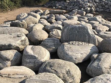 刻字景观石头