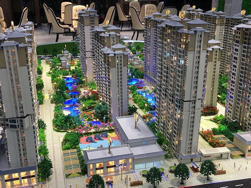 西寧沙盤模型公司?告知大家建筑別墅模型的保養: