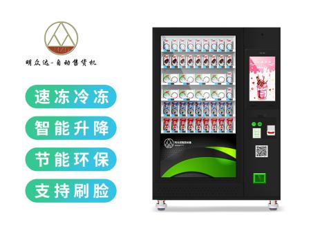 广东升降冷冻售货机定做