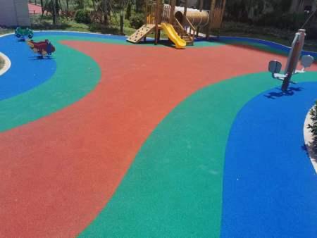 安海侨城海景湾羽毛球场,篮球场,网球场,少儿、老人活动中心全施工完毕