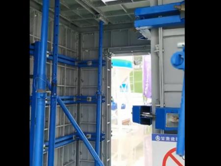 钢模板安装