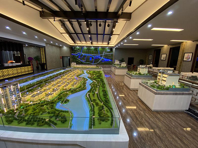 青海沙盤模型
