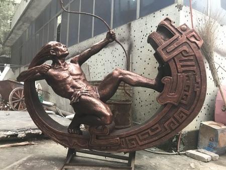 不銹鋼雕塑在制作中有哪些困難 ?